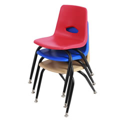 "Stackable 13 1/2"" Chairs"