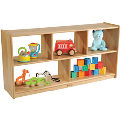 Toddler 5-Compartment Ash Unit See Thru