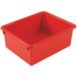 "5"" Deep Stowaway® Bin Set - Red"