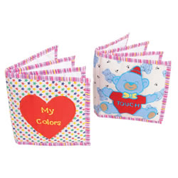 Color and Texture Cloth Mini Books (Set of 2)