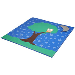 Starry Starry Night Owl Mat