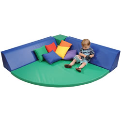 Soft Play Gathering Corner - 4 Piece Set