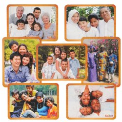 Families From Around the World Puzzles - Set of 7
