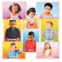 Photo Real Emotions Puzzles of Children - Set of 8