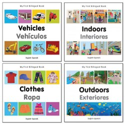 My First Bilingual Board Book Set (Set of 4)