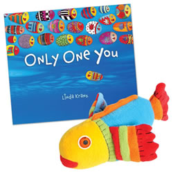 Only One You Board Book & Puppet Set