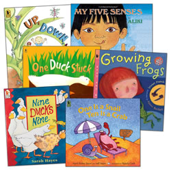 Math and Science Big Books - Set of 6