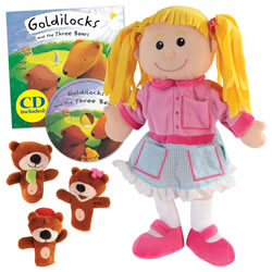 Goldilocks and Three Bears Puppet and Story
