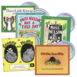 Favorite Read Alongs Book & CD Set (Set of 5)
