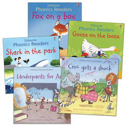 Phonics Readers Book Set (Set of 5)