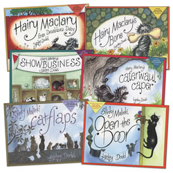 Hairy Maclary and Friends Rhyming Book Set (Set of 6)