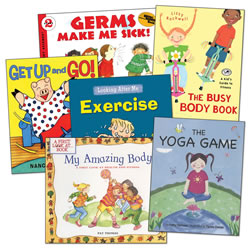 Keeping Our Body Healthy Book Set (Set of 6)