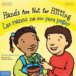 Hands Are Not For Hitting - Bilingual Paperback