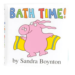 Bath Time - Vinyl Book