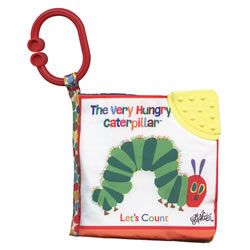 The Very Hungry Caterpillar: Let's Count - Cloth Book