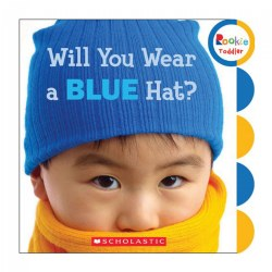Will You Wear A Blue Hat? - Board Book