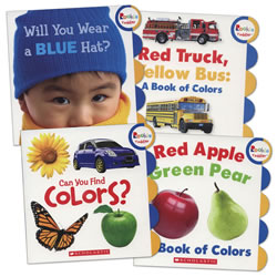 Learning Colors Book Set (Set of 4)