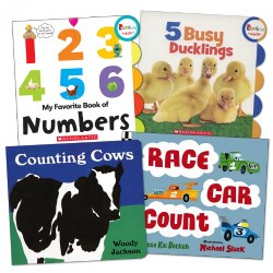 Learning to Count Books - Set of 4
