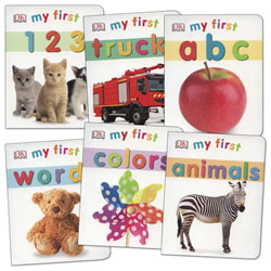 My First Learning Board Books - Set of 6