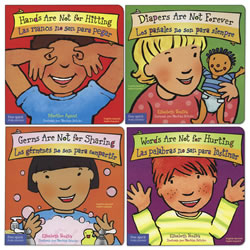 Bilingual Time For Growing Up Board Books