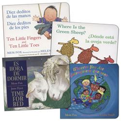 Mem Fox Bilingual Board Books - Set of 4