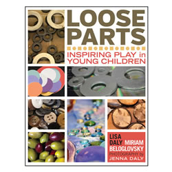Loose parts are natural or synthetic found, bought, or upcycled materials--acorns, hardware, stones, aluminum foil, fabric scraps, for example--that children can move, manipulate, control, and change within their play. Loose parts are alluring and beautiful. They capture children's curiosity, give free reign to their imagination, and encourage creativity. With more than 550 color photographs of many kinds of loose parts in real early childhood settings, classroom stories, and a dynamic overview, this book provides inspiration and information about the ways loose parts support open-ended learning, enhance play, and empower children. With loose parts, the possibilities are endless. Age focus: 0 - 6 years. Paperback. 232 pages.