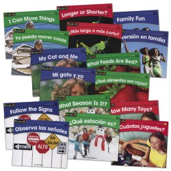 Beginning Readers Book Set - English & Spanish (Set of 16)