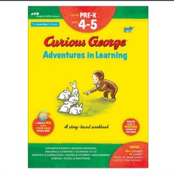 Curious George Adventures in Learning, Pre-K: Story-Based Workbook