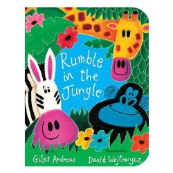 Rumble in the Jungle - Board Book