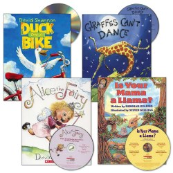 Read-Aloud Book and CD Set (Set of 4)