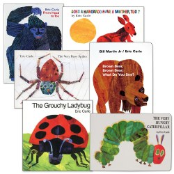 Eric Carle Book Sets (Set of 6) - Paperback
