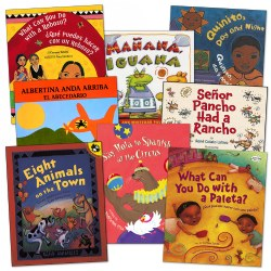 Spanish Words Embedded into Stories Book Set (Set of 8) - Paperback