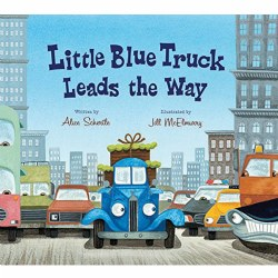 Little Blue Truck Leads the Way - Lap Board Book