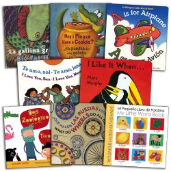 Bilingual Board Book Assortment Set (Set of 8)