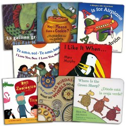 Bilingual Board Books Assortment - Set of 8
