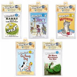 I Can Read Book and CD Set - Set of 5