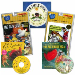 Enjoy Listening and Reading Along Book and CD Set (Set of 5)