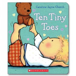 Image of Ten Tiny Toes - Board Book