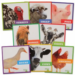 Animals on the Farm Book Set (Set of 8) - Paperback
