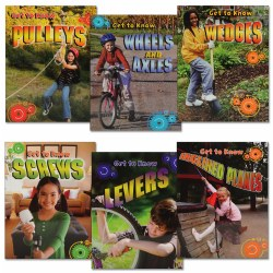 Getting to Know Simple Machines Book Set - Set of 6