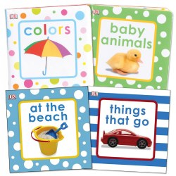 Squeaky Baby Vinyl Books (Set of 4)