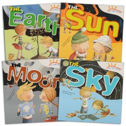 The Solar System Book Set (Set of 4)