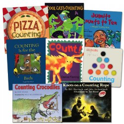 Different Ways to Count Books - Set of 8