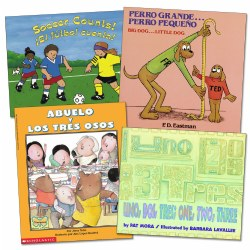 Bilingual Math Books (Set of 4)