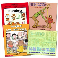 Bilingual Math Books - Set of 4