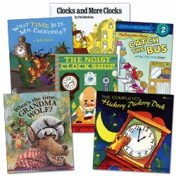 What Time is It Books - Set of 6