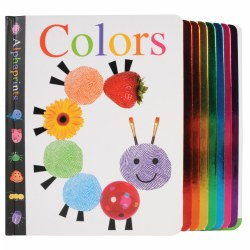 Image of Alphaprints: Colors - Board Book
