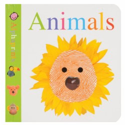 Image of Alphaprints: Animals Board Book