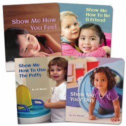 Point to Books - Set of 4