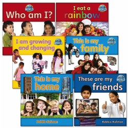 My World Book Set (Set of 6) - Paperback